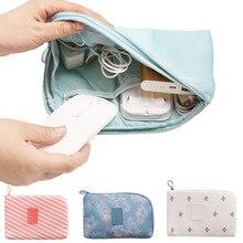 Accessoire de voyage sac de câble Portable numérique USB organisateur électronique Gadget étui voyage téléphone Portable Charge support de chargeur Mobile