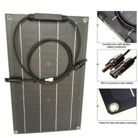 20w 18v ETFE Flexible Solar Panel DIY Module Panel High Efficiency Solar Cell