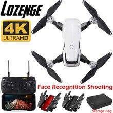 Lozenge HJ28 WIFI FPV batería larga RC Drone gran angular Selfie Quadcopter altura Drone con cámara 4K Deone con bolsa de almacenamiento