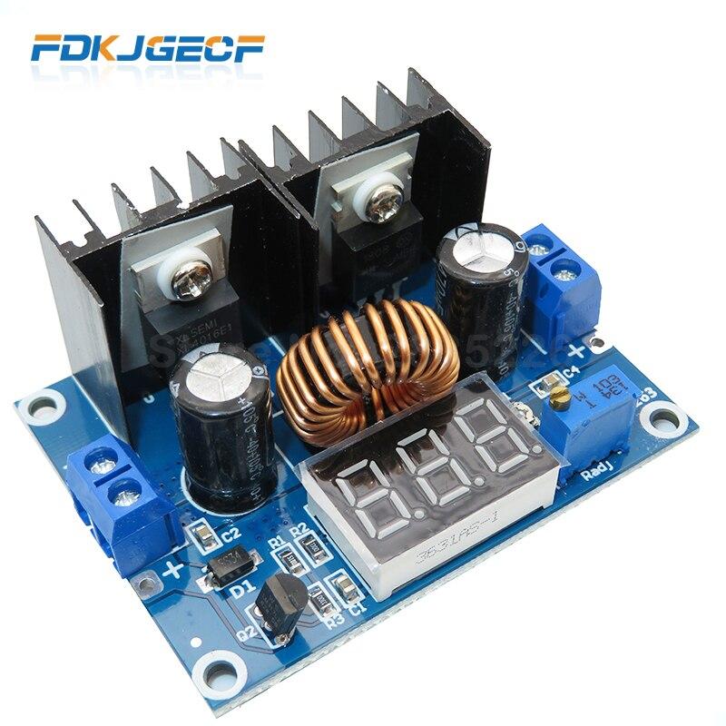 1 Uds. DC-DC XL4016 200W 8A, convertidor ajustable DC4-38V a DC1.25-36V, placa de alimentación, LED, inversor Digital, módulo PWM