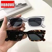 rbrovo small cat eye sunglasses women 2021 vintage glasses for womenmen luxury brand eyewear women retro gafas de sol mujer