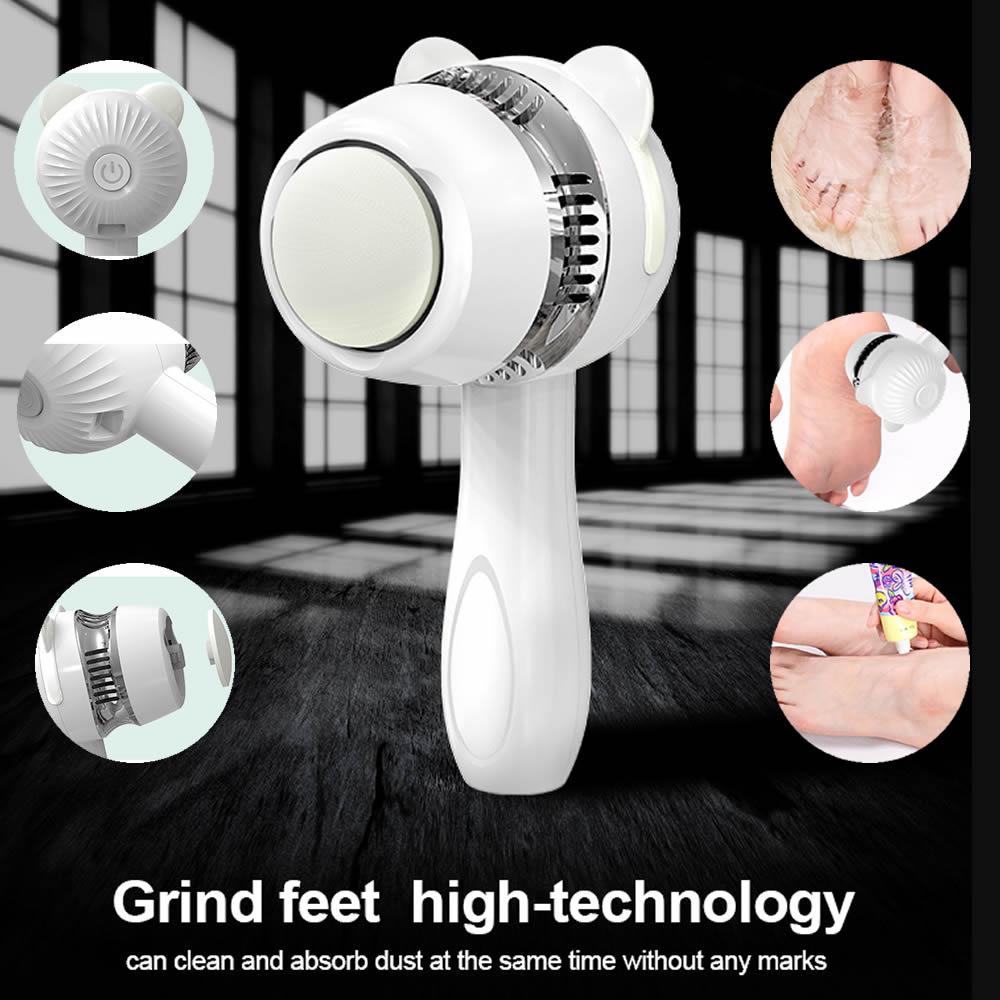 AIFREE Electric Vacuum Adsorption Foot Grinder Callus Remover Feet Clean Care Machine   Pedicure Exfoliating Cleanser