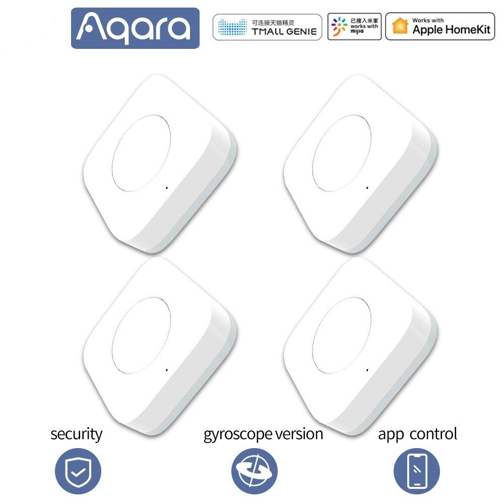 Aqara interruptor inteligente sem fio campainha sem fio chave de controle remoto inteligente zigbee wifi para xiaomi homekits mijia mi casa