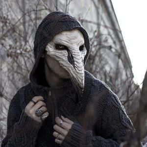 Top Halloween Plague Beak Mask Punk Steam European Black Death Doctor Deluxe Latex Helmet