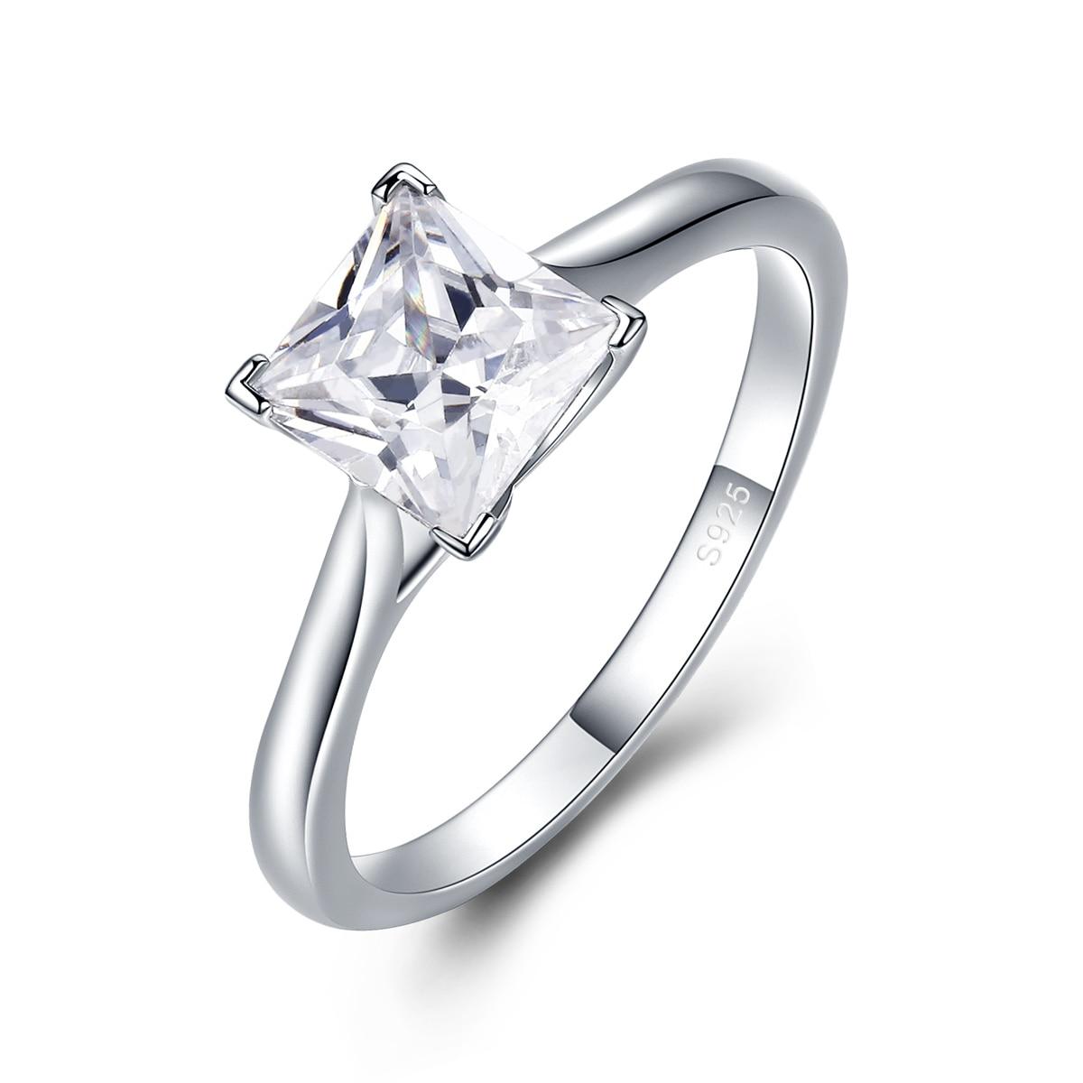 Anillo de estrella brillante PR1, anillos de cadena de eslabones para mujer, joyería de plata esterlina