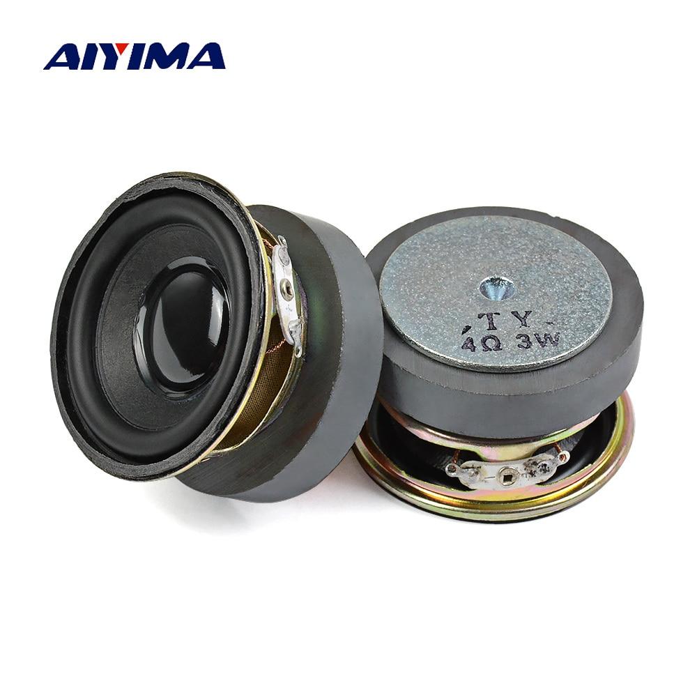 AIYIMA-Altavoz de Audio para cine en casa, 2 uds., 2 pulgadas, 52mm,...