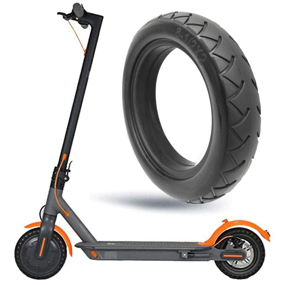 8,5 pulgadas Scooter rueda reemplazo neumático sólido Tubeless drill Scooter Eléctrico accesorios para Xiaomi M365 Scooter Eléctrico