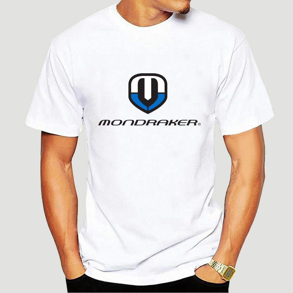 Camiseta con Logo de Mondraker para hombre y mujer, divertida camiseta fresca,...