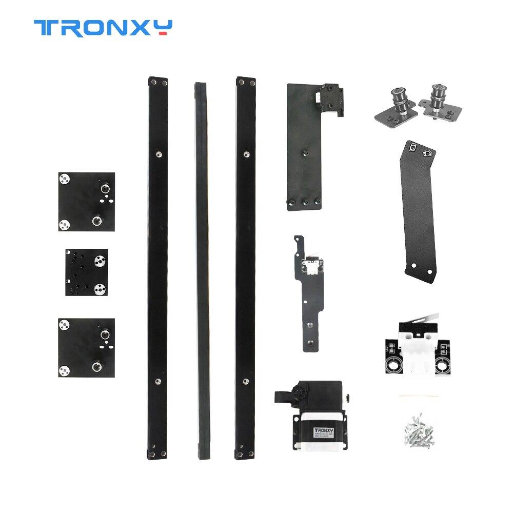 Tronxy ثلاثية الأبعاد طابعة جزء ترقية أطقم X5SA-500 إلى X5SA-500 برو أجزاء XY محور دليل السكك الحديدية تيتان الطارد عالية الجودة طباعة مرنة