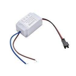 Simples ac 85v-265v para dc 2v-12v 300ma iluminação transformadores de alta qualidade led driver para led strip fonte de alimentação 3x1w