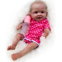 reborn doll 20 inch realistic newborn reborn baby vinyl painted movable doll limbs diy cute doll kit