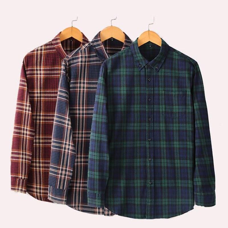 قميص قطني متقلب للرجال ، إصدار Street Star ، قميص رجالي بأكمام طويلة مع ياقة مقلوبة ، قميص غير رسمي ، أخضر