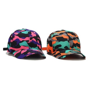 2021 four seasons Camouflage print cotton Casquette Baseball Cap Adjustable Snapback Hats for men and women 182