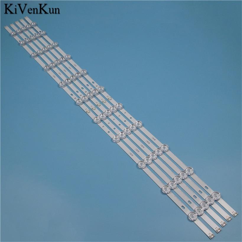 Lâmpada de tv led backlight strip para lg 55ly340c 55ly345c 55ly540h 55ly540s barra kit leds faixas direto 3.0 55 polegada rev0.1 180409 réguas
