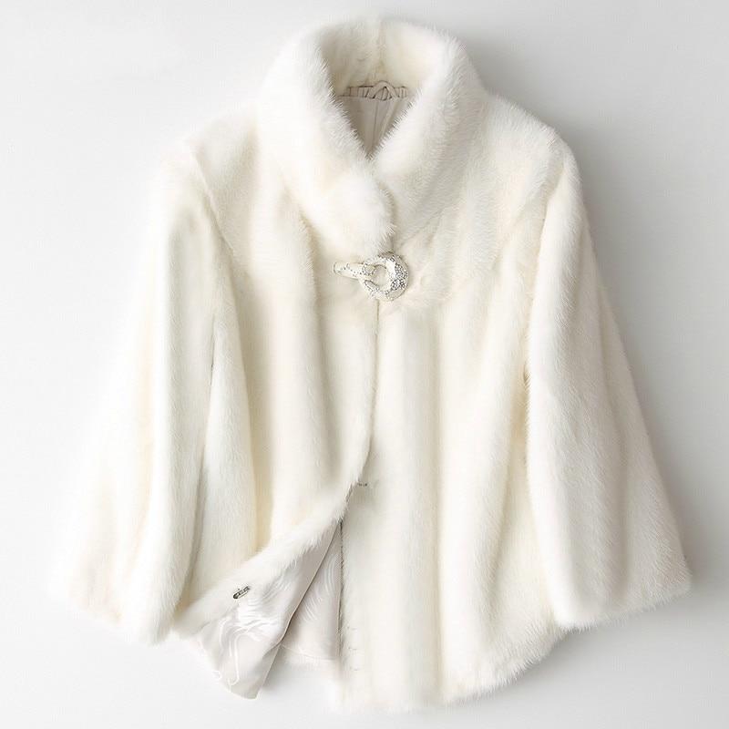 جديد وصول المنك الحقيقي الفراء كامل بلت فرو المنك معطف الإناث 2020 قصيرة الفاخرة الطبيعي المنك معاطف الشتاء سترة النساء 8236C