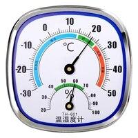 Аналоговый комнатный и уличный Термометр-Гигрометр Wang Hang, измеритель влажности и температуры, подвесной и стоячий, не требует батареек