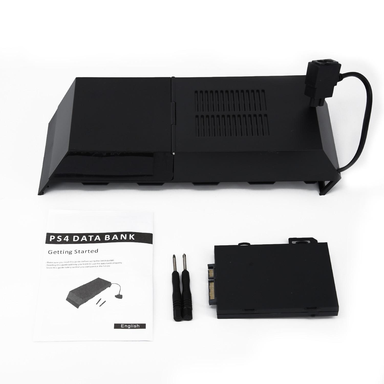 Reemplazo Universal de caja de datos 2TB, almacenamiento de capacidad, disco duro externo para PS4 Playstation 4, juego de disco duro negro