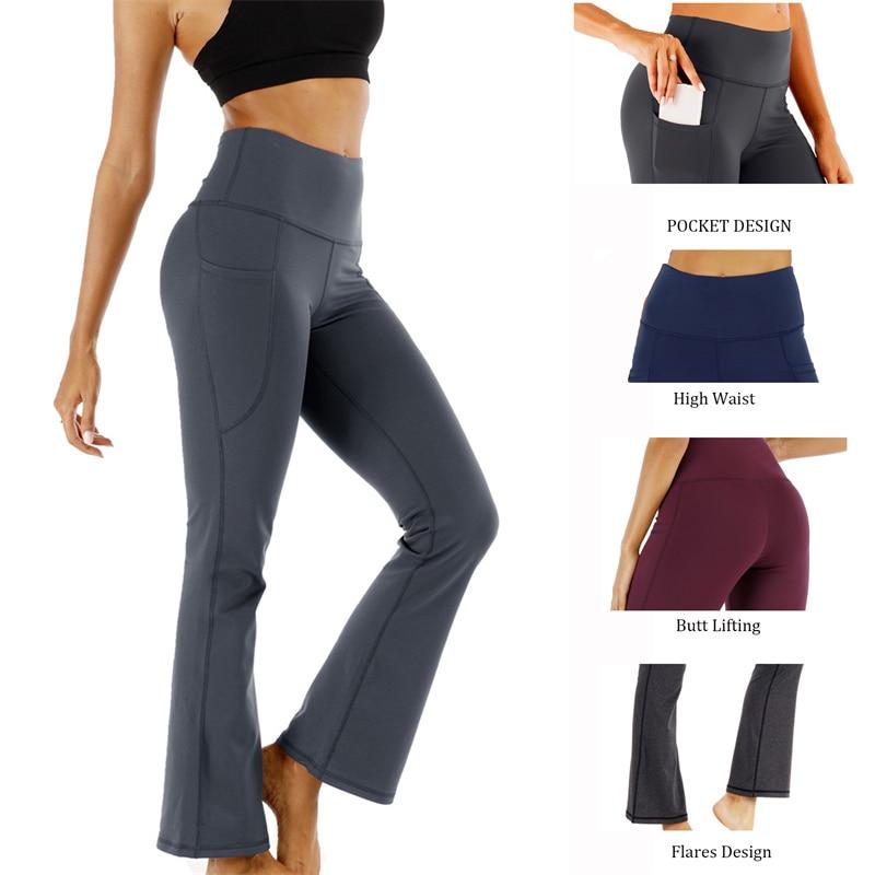 Женские брюки-джоггеры, расклешенные брюки, брюки в эстетике девушек, женские спортивные брюки, расклешенные Широкие штаны, брюки для йоги