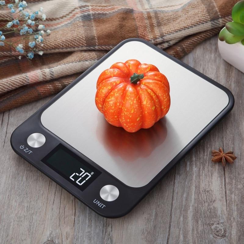 Электронные весы, кухонные весы, пищевые весы, кухонные весы из нержавеющей стали, кухонная утварь, 5 кг 1 г/10 кг 1 г/15 кг 1 г