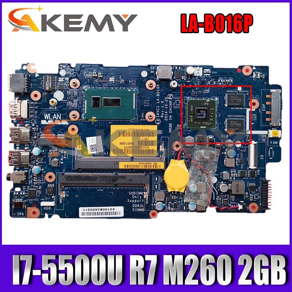 CN-0671D8 0671D8 671D8 لديل 5443 5543 5448 5547 5548 اللوحة المحمول ZAVCA LA-B016P W/ I7-5500U R7 M260 2GB 100% اختبار موافق