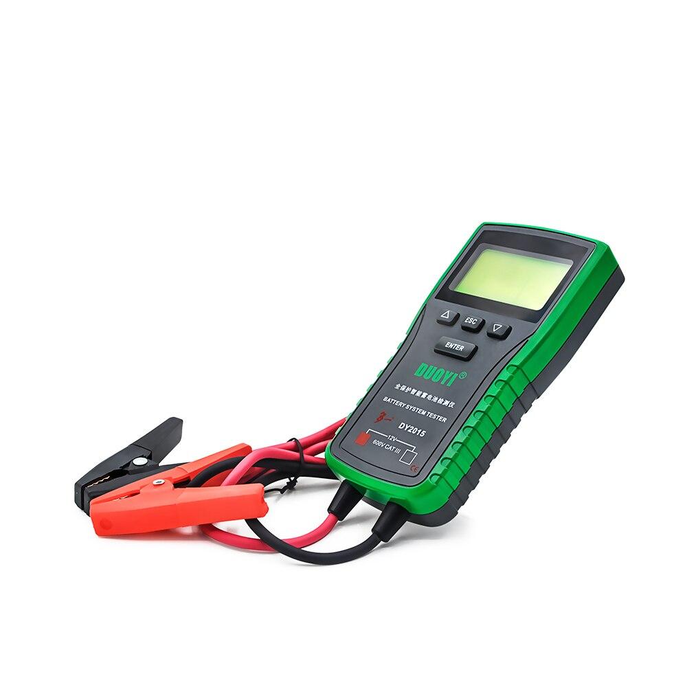 Probador de batería de vehículo eléctrico DUOYI DY2015 CE FCC RoHS