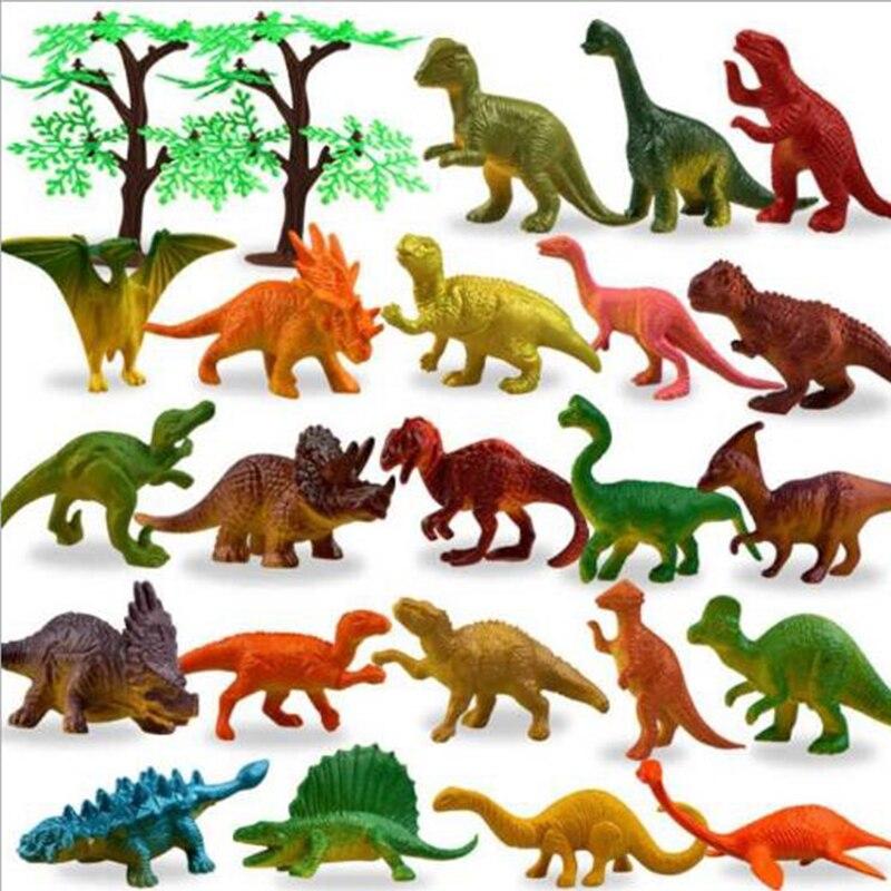 53 шт./компл. Имитация животных, мини-модель JungleKids, динозавры, животные, динозавры, Homeschool, динозавры, игрушки для детей