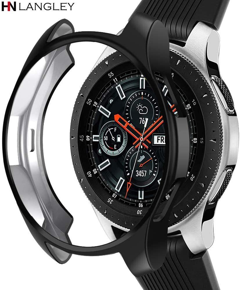 Funda protectora envolvente para Samsung Galaxy Watch, 46mm, 42mm Gear S3 Frontier...