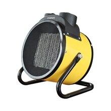 AC220-240V 2KW ventilateur portable chauffage radiateurs électriques industriels chauffages électriques Thermostat domestique radiateurs industriels chaud