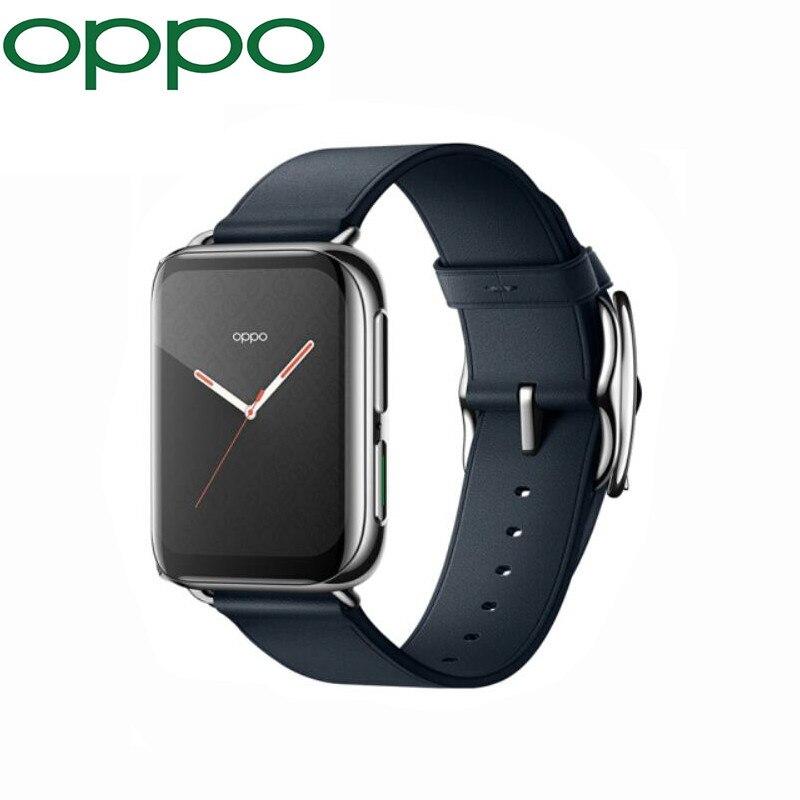 Original Oppo Relógio – 46mm Telefone Celular Esim Vooc 430mah Smartband 1g 8g Gps 1.91 Polegada Amoled Snapdragon 2500 & Apollo3 2021 41