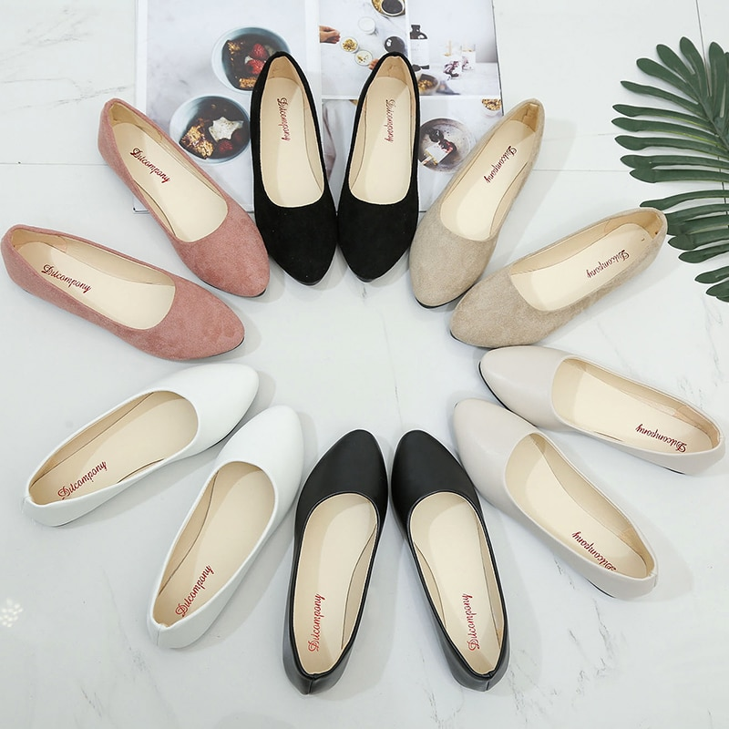 casual women shoes casual slip on flats women shoes new flock pointed toe butterfly knot ballet dancing shoes mujer zapatos w138 Woman Lady Casual Flock Flats Shoes Women Pointed Toe Slip On Boat Shoes Chaussures Femme Low Heel Shoes Sapato Feminino