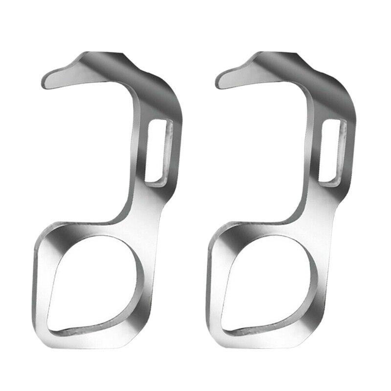 2 uds. Abridor de puerta portátil el botón sin contacto herramienta elevador botón empujador cero prensa manija Reusable herramientas