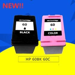GIAUSA 60XL cartuchos de tinta Para HP60 XL para HP Deskjet C4685 C4688 C4798 C4799 D110a ENVY 100 110 111 114 120 121 F2480 F2420 F44