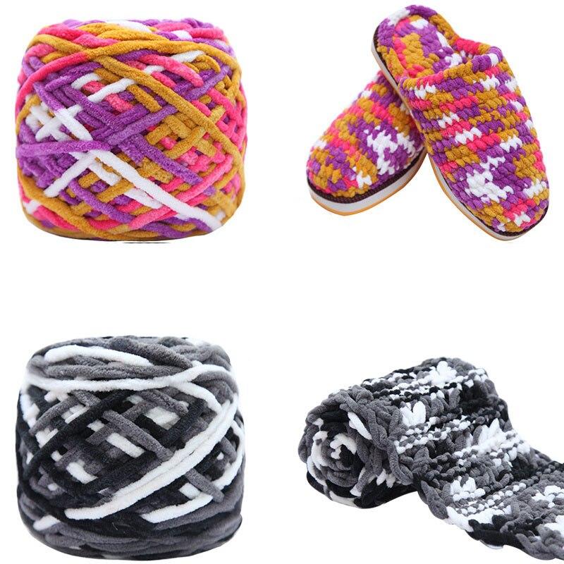 1 ud. = 100g lana suave de ganchillo hilado de bebé ganchillo para tejer gruesa bufanda de hilo de algodón venta DIY suéter B5MX0001
