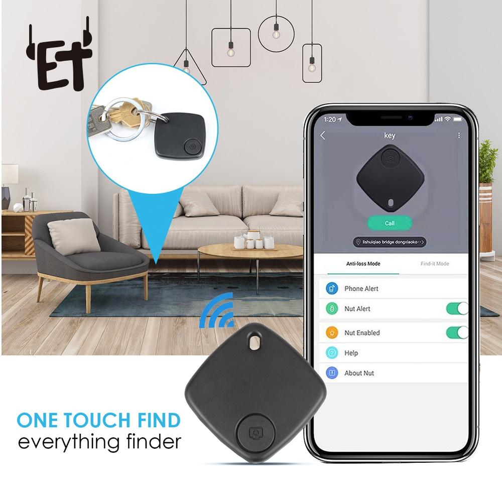 Multifunctional Smart Bluetooth Anti-lost Tracker Alarm Smart Tag Child Bag Wallet Key Finder Selfie Remoter Everything Finder