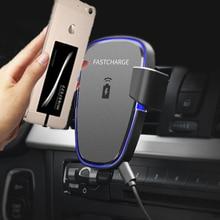 Araç tutucu telefon tutucu Qi Kablosuz Şarj Için Samsung Galaxy A10 A20 A30 A50 A70 Kablosuz Alıcı Şarj Ve TPU Kılıf Kapak