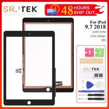 Für iPad 2018 Touchscreen Digitizer Für iPad 6 iPad 9,7 2018 Touchscreen Glas Panel Ersatz Sensor A1893 A1954