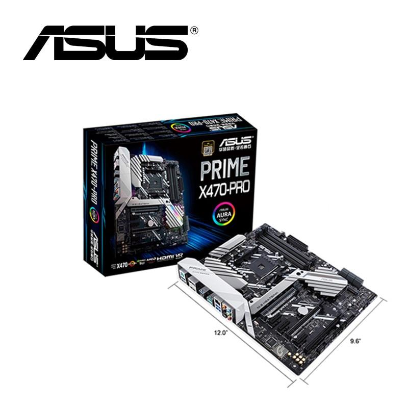 Nuevo Asus Prime X470-PRO placa base hembra AM4 DDR4 USB3.0 USB3.1 SATA3 64GB HDMI M.2 X470 placa base de escritorio