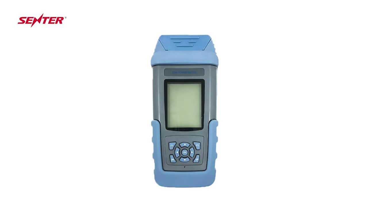 SENTER ST805C المحمولة pon اختبار FTTH الألياف البصرية السلطة متر المحرز في الصين