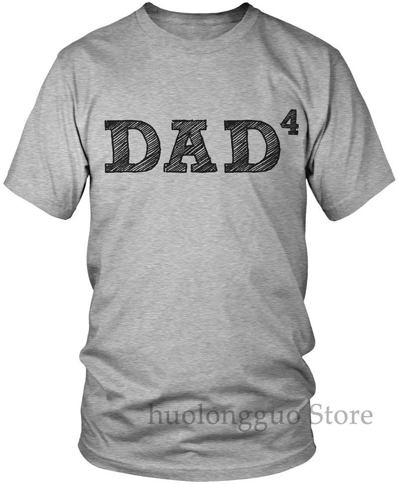 Camisetas de papá 4 para hombre, camisetas para padre de 4 hombres, camisetas Para papá y papá AMD_1686