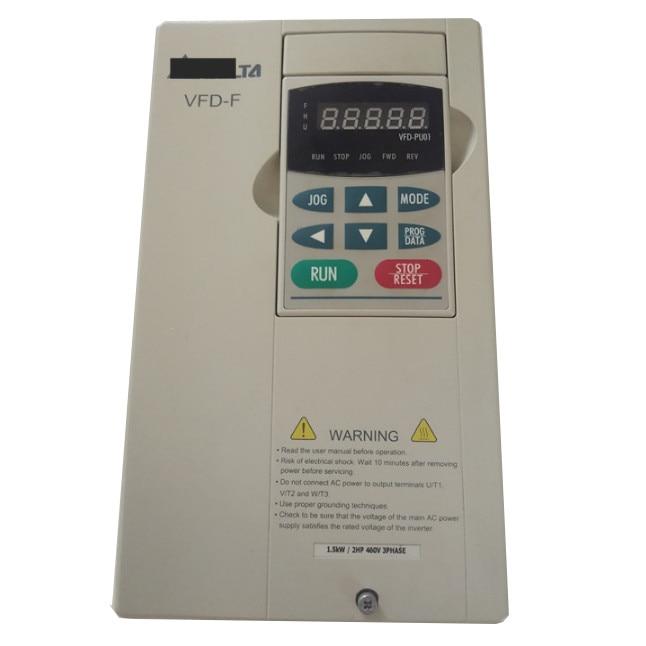محول تردد VFD015F43A, أصلي جديد 380V 1.5KW