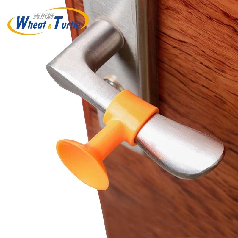 3 шт./лот, дверная ручка, глушитель, Противоударная накладка, Настенная защита, силиконовый стопор для двери, продукты для предотвращения сто...