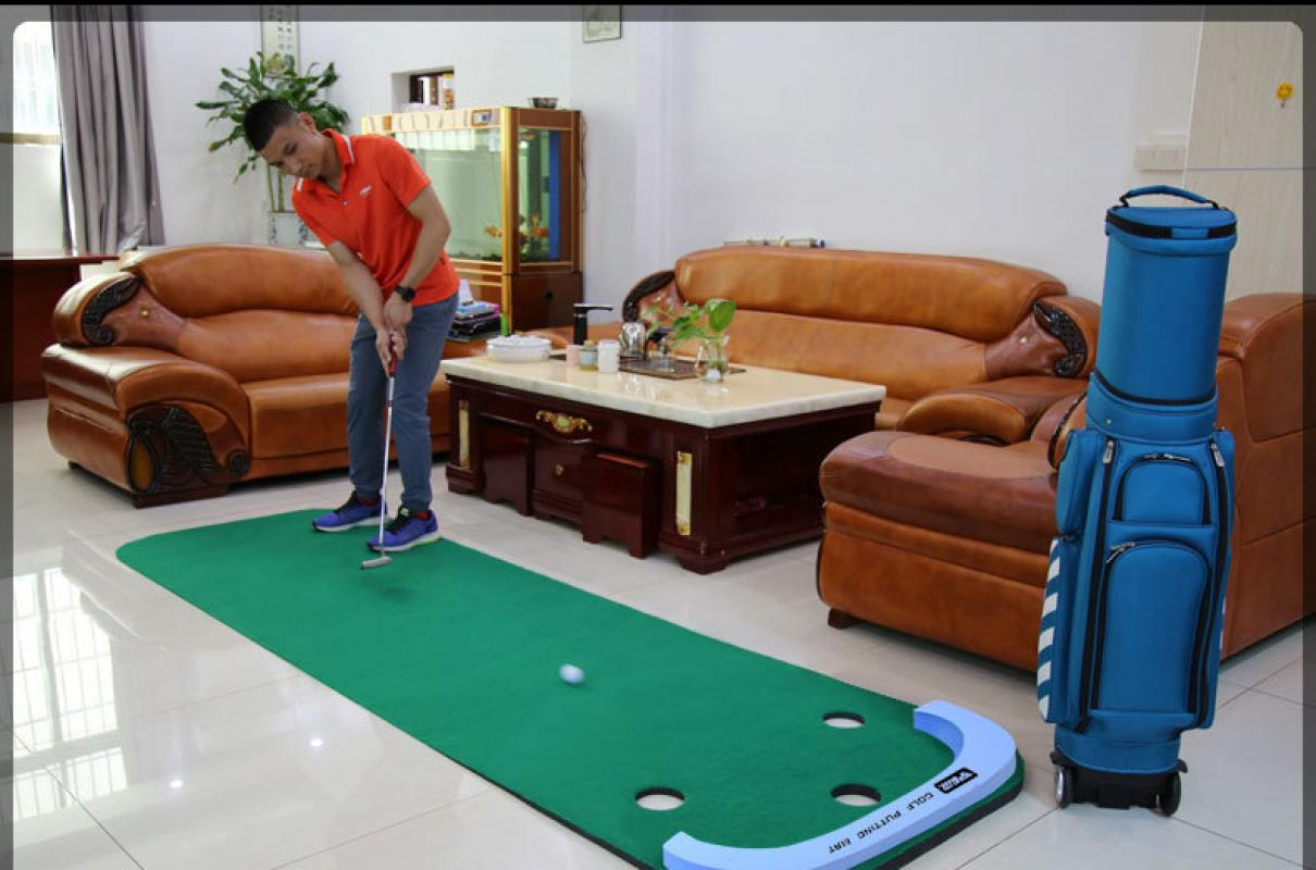 3M Golf de poner verde entrenador de Swing Set Putter Fairway césped del Golf Oficina Casa Mat Accesorios