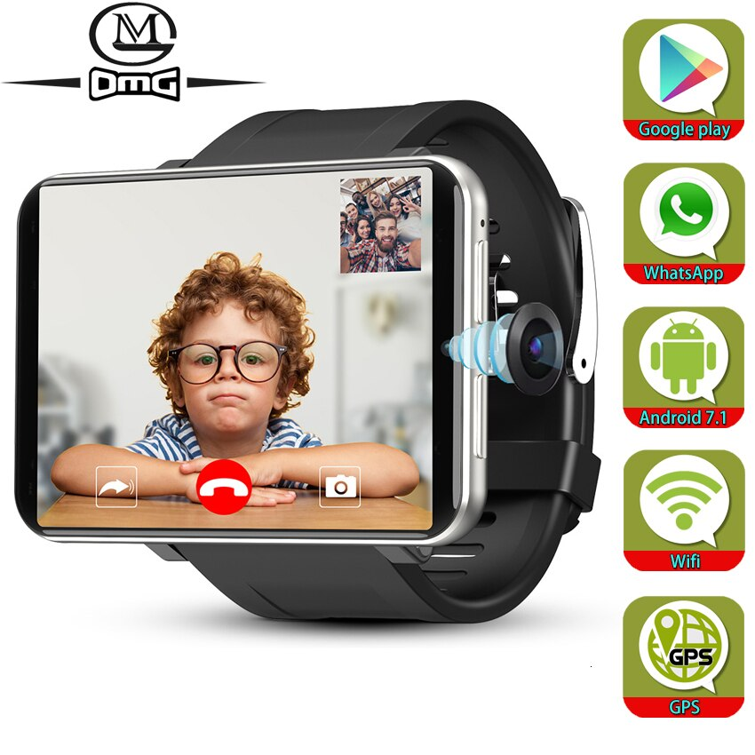 kw88 android 5 1 os smartwatch electronics android 1 39 mtk6580 smart watch phone support 3g wifi gps for apple samsung les2 Support Google Play Android 7.1 Smart Watch GPS WiFi 3GB + 32GB 4G Smartphone Men SmartWatch 5.0mp Camera 2700mAh mobile phone