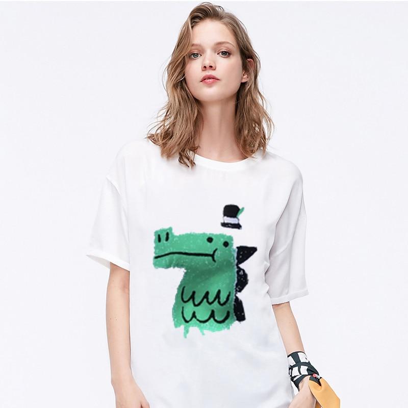 Фото - Women's T-shirt Cartoon Pictures Print Harajuku T-shirt Funny Cartoon Short-sleeved T-shirt Women's O-neck Fashion T-shirt Top 2021 latest hot sale 3d cartoon print short sleeved t shirt harajuku t shirt 110 xxs 6xl