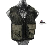 in stock 16 scale male aviator reporter vest jacket army green color for 12 action figure model accessories