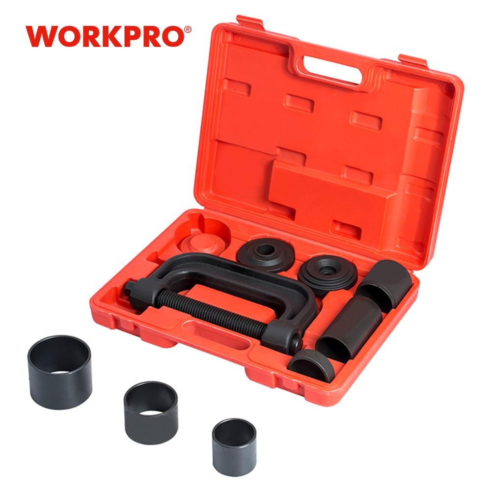 WORKPRO Car Repair Tool Set 4WD Ball Jointer Remover Installer Set