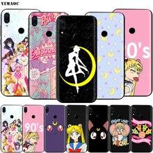 YIMAOC Sailor Moon Case for Xiaomi Redmi Note 4 4x 4a 5 5a 6 8 8A MI 9 10 8T Pro Plus