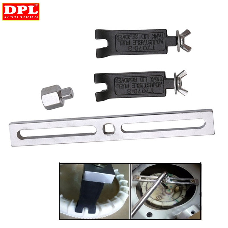 Good Quality Fuel Pump Lid Tank Cover Remover Spanner Wrench Tool For Mercedes-Benz/BMW/Audi/VW enlarge