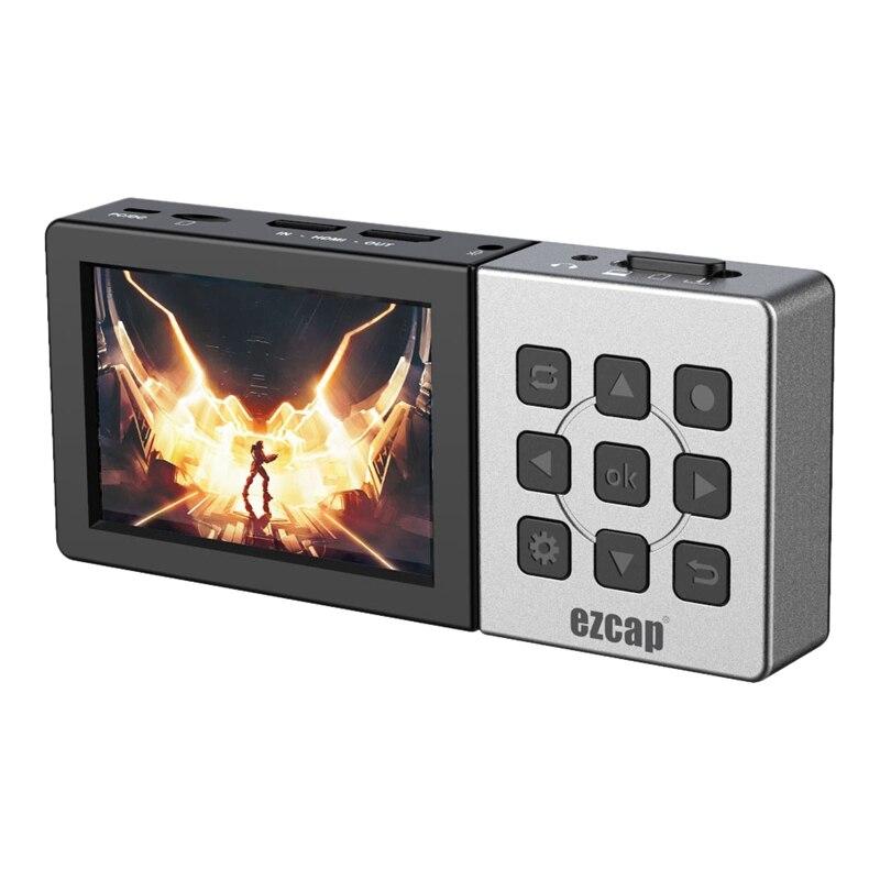 صندوق التقاط الفيديو EZCAP 273 ، صندوق التقاط الفيديو عالي الوضوح لتحويل الفيديو إلى فيديو رقمي لـ Ps4 ، Series