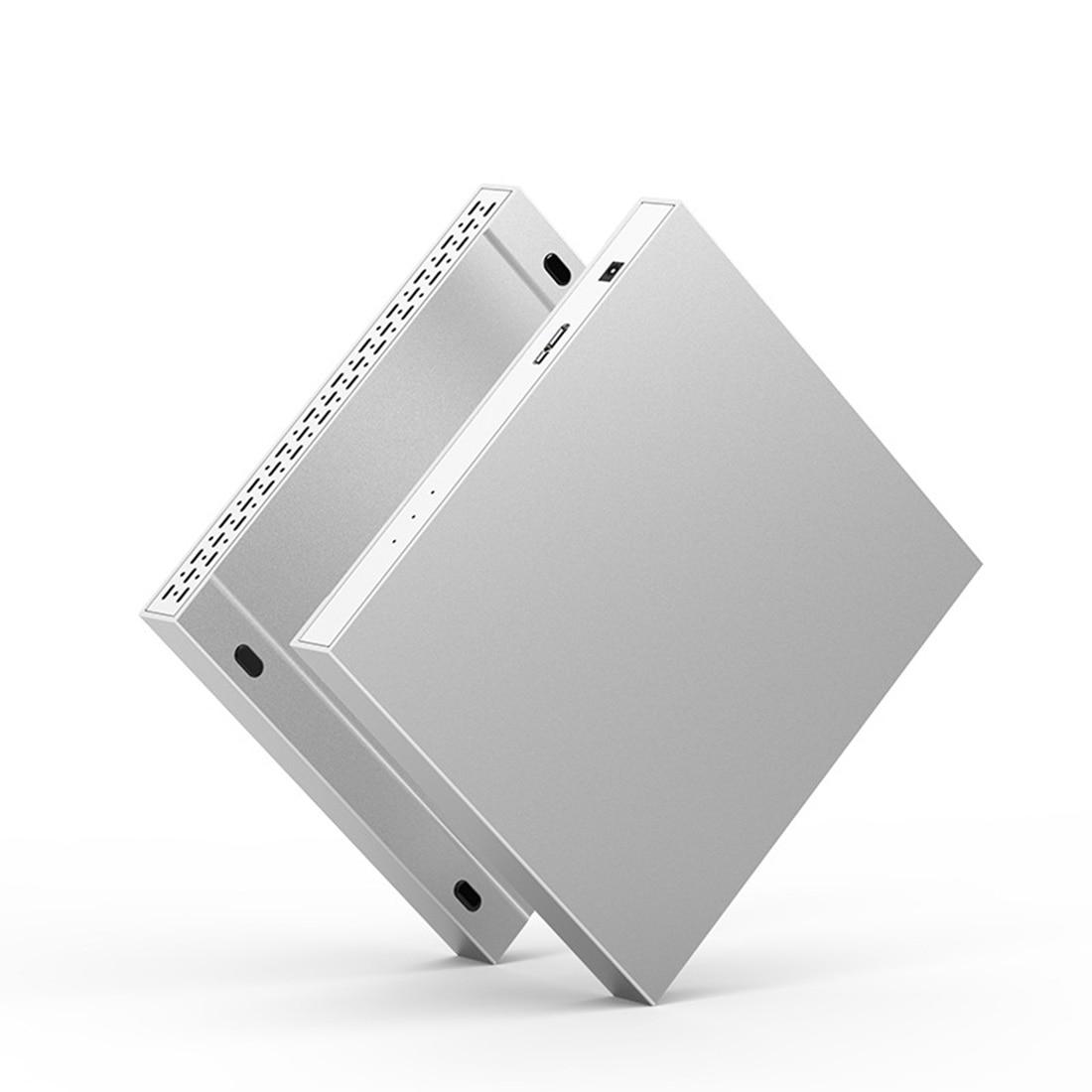 O cerco externo de hdd 2 baía 2.5 polegadas 10 gbps usb 3.0/tipo c raid 4 modos para windows mac linux 20 tb sata disco rígido caixa da disposição